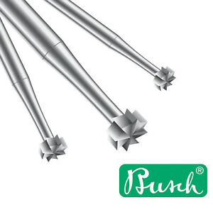 Busch HST Wheel Burr No 3 - Choose from 0.6 to 2.5mm