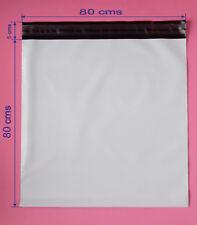 MENSAJERIA 50 sobres bolsas 80x80 cm envio mensajería con cierre adhesivo