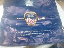 NEW YORK FIRE DEPARTMENT - USED LARGE CARRIER BAG from NEW YORK