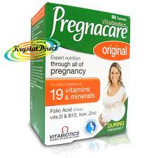Vitabiotics Pregnacare Original Vitamin Mineral Conception Pregnancy 90 Tablets