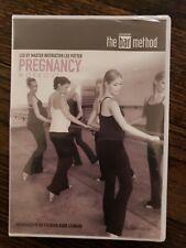 Brand New Sealed Bar Method Pregnancy Workout Dvd Video Burr Leonard Lee Potter