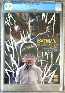 Batman The Smile Killer #1 Andrews Variant CGC 9.9 DC Comics Black Label