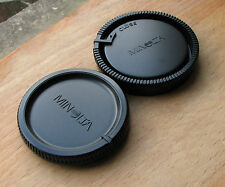 genuine  Minolta AF rear lens cap & front body cap used