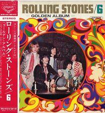 "ROLLING STONES ""6 / GOLDEN ALBUM"" ORIG JAPAN 1969 OBI/INSERT VG++/M-"