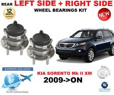 Per KIA SORENTO I cuscinetti ruota posteriore MK II XM mano sinistra + destra 2009 - >