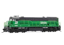 Arnold Burlington Northern GE U28C DCC Ready #5666 N Scale Locomotive HN2317