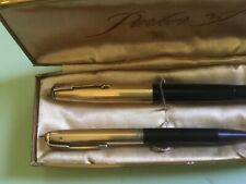 Parker 51 Vacumatic Pen and Pencil Set with Case