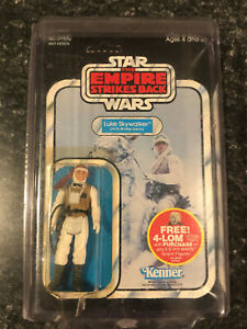 Vintage ESB Hoth Luke Skywalker Figure Star Wars Kenner 47 Back Unpunched MOC