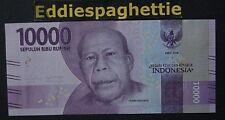 Indonesia 10,000 Rupiah Prefix AAA 2016 UNC P-NEW