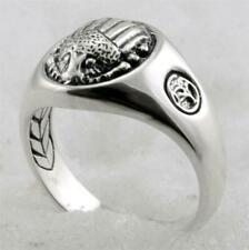 David Yurman Men's Sterling Silver Scarab ring size 9