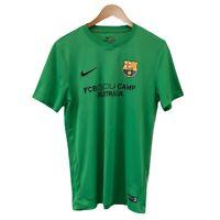 Nike Dri-Fit Men's Green Activewear T-Shirt Size M FCBESCOLA Camp Australia