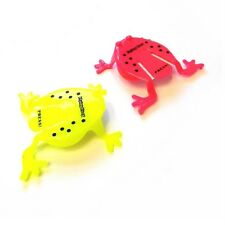 2 x JUMPING FROG TOYS BOYS GIRLS BIRTHDAY PARTY BAG CHRISTMAS STOCKING FILLER