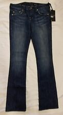 *NWT*William Rast Baby Bootcut With Flap Jeans in  Blue Size 26X33