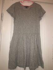 Gap kids Girls Short Sleeve Gray Pleated Shift Dress Size XL 12