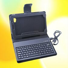 "New Bluetooth Keyboard Leather Case for Samsung Galaxy Tab 7"" Tablet P1000"