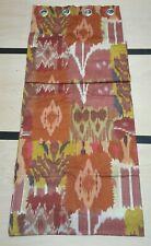 John Lewis Theia Eyelet Curtain Red