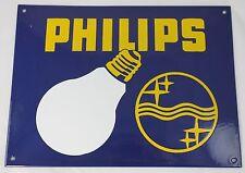 40 x 30 cm  Philips Logo  Emailleschild - Glühbirne - enamel shield Logo