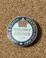 London & South Western Railway WW1 War Service Pin Badge (Reproduction)