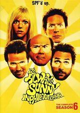It's Always Sunny in Philadelphia: Season 6 [2 Discs] (2011, DVD NEW)