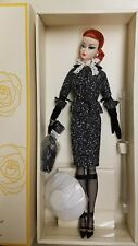 2017 Barbie BFMC Fashion Model BLACK and WHITE TWEED SUIT Silkstone Doll MINT