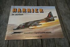 Harrier in Action Aircraft Number 58 Squadron/Signal 1058 - book