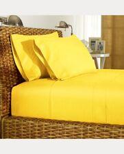 Ralph Lauren 464T Solid Percale King Pillowcase Set Cotton Palmer Slicker Yellow