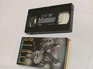 Elvis The Great Performances Volume 1 Center stage  VHS movie tape RARE 1032