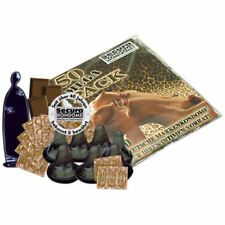 Preservativi neri al gusto cioccolato Secura Black Power Condoms Cocolate 50 pcs
