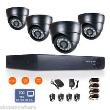 8CH 1080N HDMI DVR HD 700TVL Night Vision CCTV Video Home Security Camera System