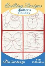 Quilters Holiday Anita Goodesign Embroidery Design cd CD ONLY