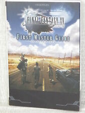 FINAL FANTASY XV 15 First Master Guide w/Map PS4 Xbox One 2016 Book VJ73
