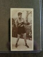 1938 Churchmans's Cigarettes Gene Tunney Boxing Card Personalities #35
