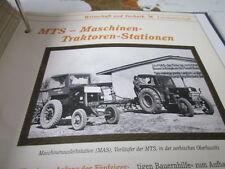 Das war die DDR Wirtschaft Technik Landwirtschaft MTS Maschinen TraktorenStation