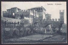 CREMONA SONCINO 05 CASTELLO Cartolina viaggiata 1918