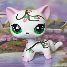 Littlest Pet Shop Cute  Short Hair, Cat, Ooak Custom, Hand Painted, LPS