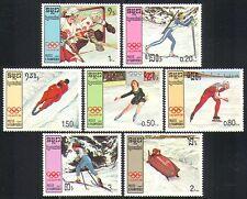 Kampuchéa 1987 Juegos Olímpicos de Invierno/Deportes/juegos 7 V (b8618b)