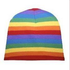 Gay Pride Beanie Cap Rainbow Beanie