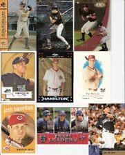 2000 00 Upper Deck Josh Hamilton Lot Texas Rangers Cincinnati Reds Tampa Rays