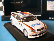 BMW 320SI #2 TEAM GERMANY WTCC BRNO 2007 HEAT WINNER MULLER MINICHAMPS 400072602