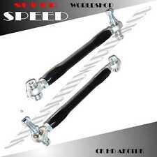 Rear Adj.Toe Arm Kit for 2000-2009 Honda S2000 S2K Ap1 Ap2 Model ONLY BLACK
