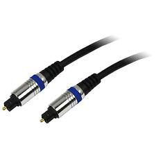 LogiLink 1,5m High-End optisches Toslink Kabel Cable SPDIF Digital Audio CAB1101