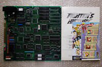 """Fighter's History """"Original Flyers"""" Data East Jamma PCB Arcade Game Japan"""