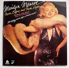 LP Marilyn Monroe  - Never Before and Never Again NM