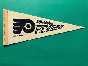 1969 NHL PHILADELPHIA FLYERS MINI PENNANT TERRIFIC CONDITION