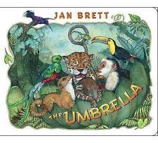 NEW The Umbrella: board book by Jan Brett