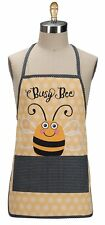BUSY BEE Honeycomb Print Child's Apron, 100% Cotton, by Kay Dee Designs