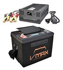 LIFEPO4 50AH Deep Cycle Battery Power Generator KIT for 12V 20lb trolling motors