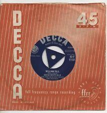 DAVID WHITFIELD william tell*willingly 1959 UK DECCA TRI-CENTRE 45