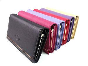 Ladies Premium Super Soft Genuine Leather Purse Wallet Coin Pouch Card Holder