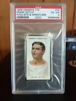 1909 Ogden's LTD Pugilists & Wrestlers Boxing #74 Frank Gotch RC PSA 4 VG EX